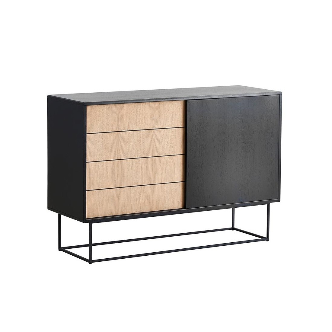Highboard Metall Virka High Sideboard