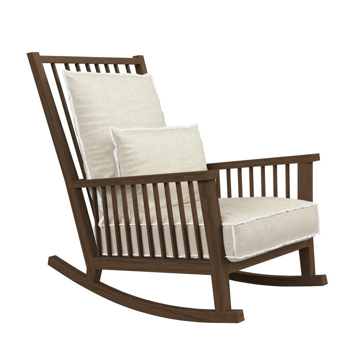 Outdoor Schaukelstuhl Gray 09 Rocking Chair