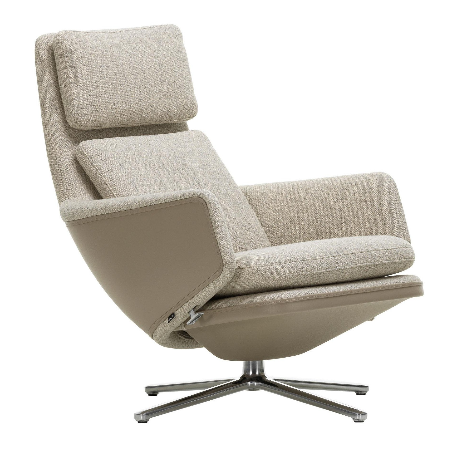 Vitra Grand Relax Armchair Fabric Ambientedirect