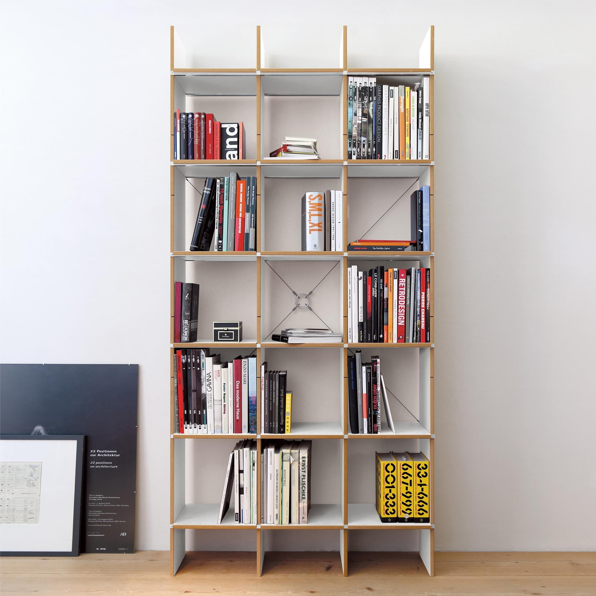 Regal Birke Moormann Fnp Shelf System 105x223cm | Ambientedirect