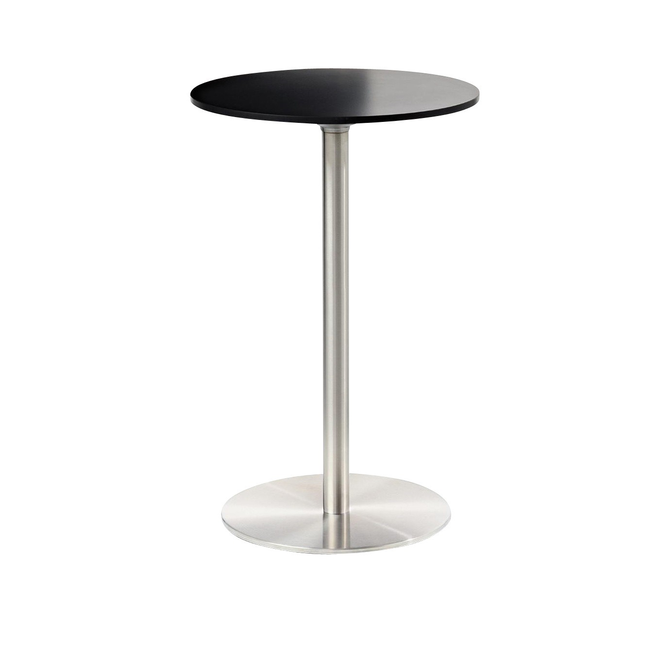 Table Bistrot Inox Passe Partout Table Bistro Ronde