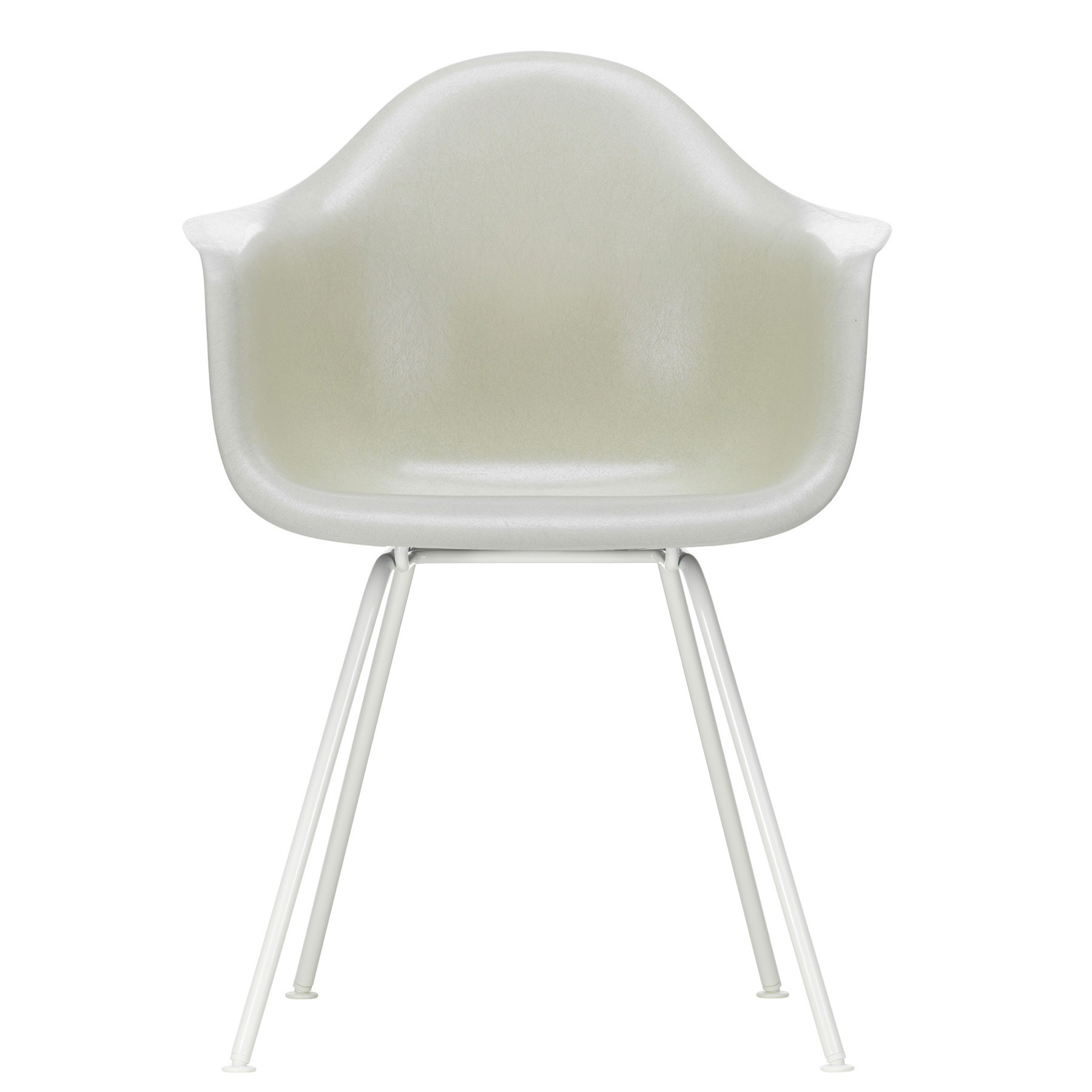 Eames Chair Weiß Vitra Eames Fiberglass Chair Dax White Base | Ambientedirect