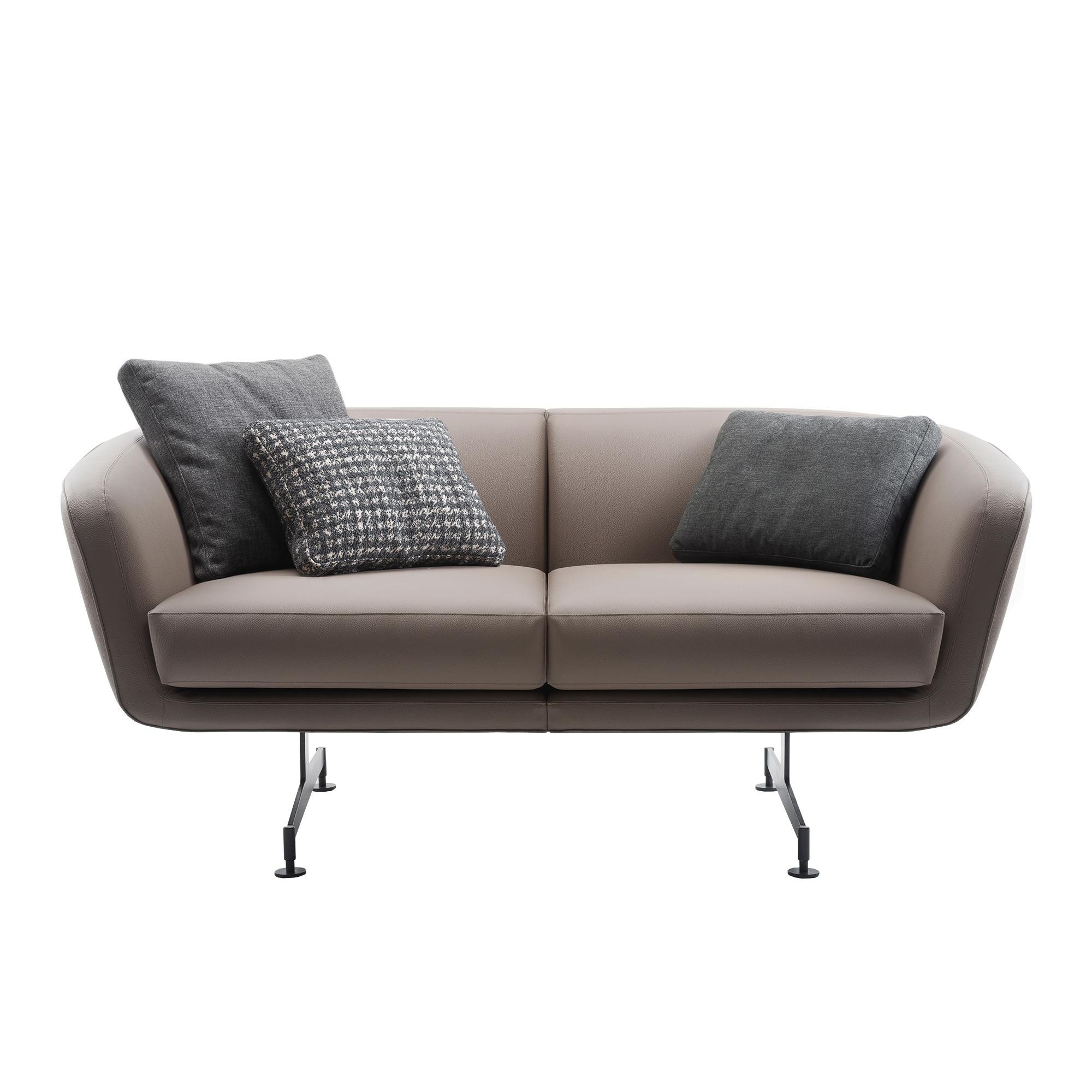 Kartell Sofa Betty 2 Seater Sofa Leather