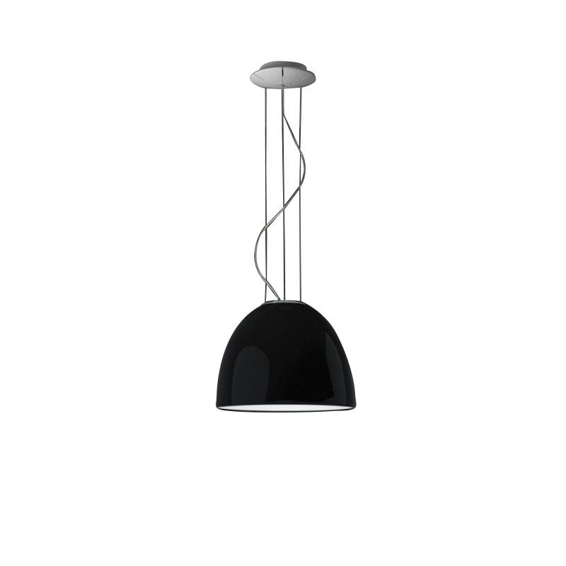 Artemide Nur Mini Nur Mini Gloss Suspension Lamp | Artemide | Ambientedirect.com