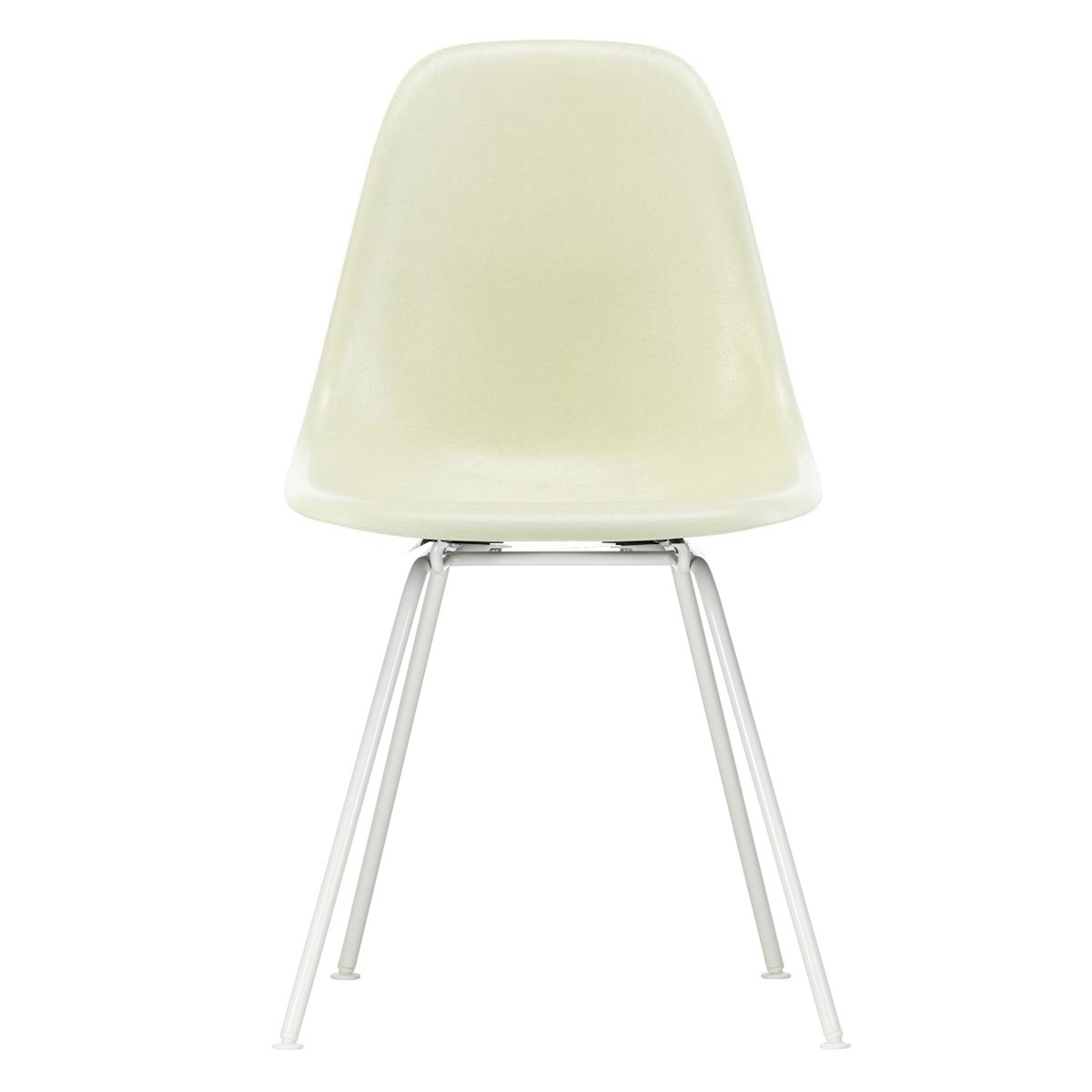 Eames Chair Weiß Vitra Eames Fiberglass Side Chair Dsx White Base | Ambientedirect