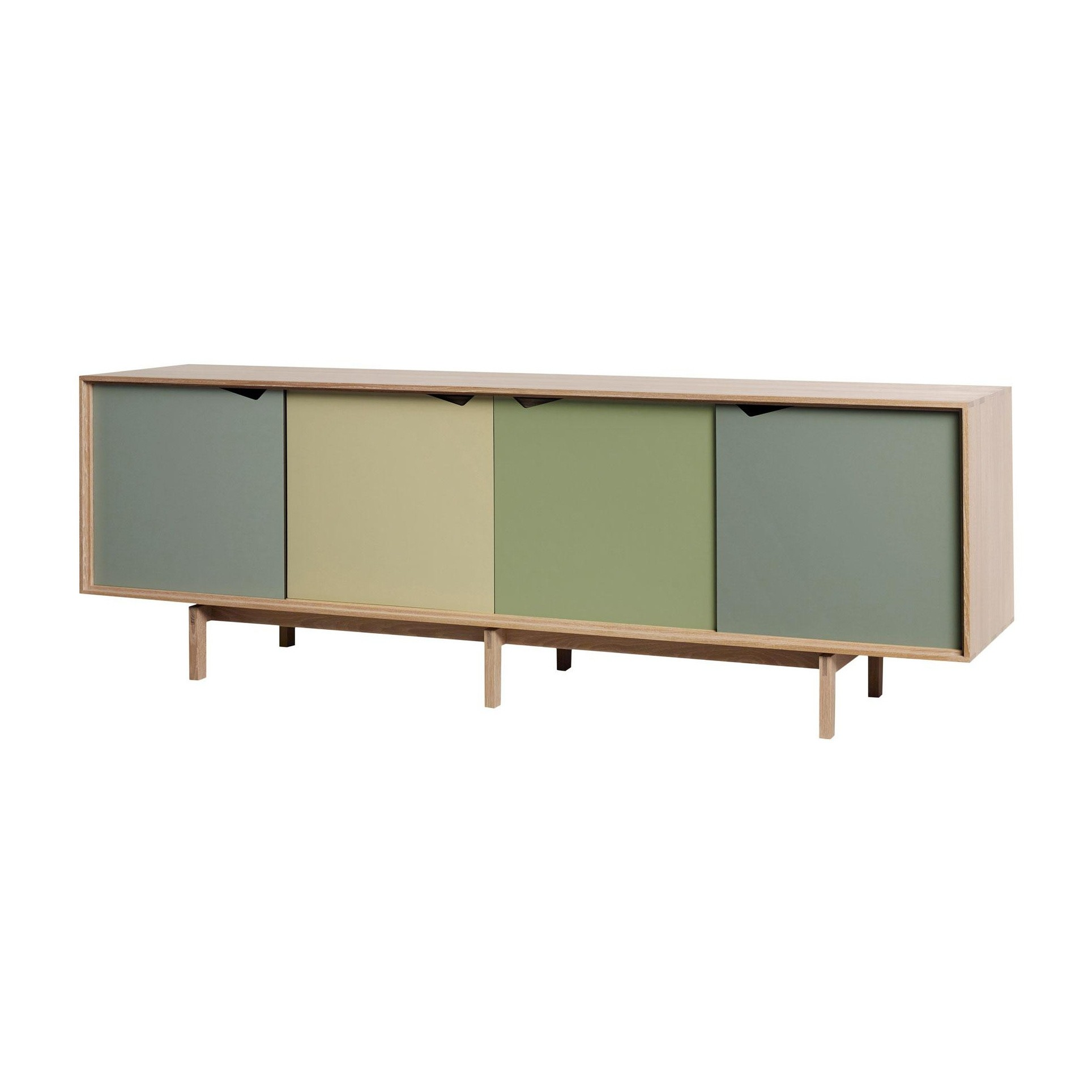 Sideboard Türen Andersen Furniture S1 Sideboard Türen Bunt | Ambientedirect