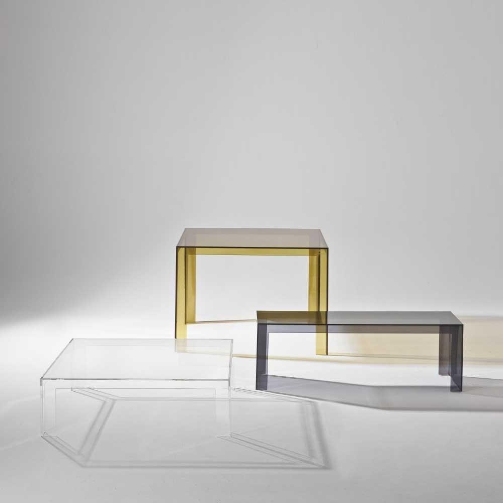 Kartell Couchtisch Invisible Invisible Table Coffee Table