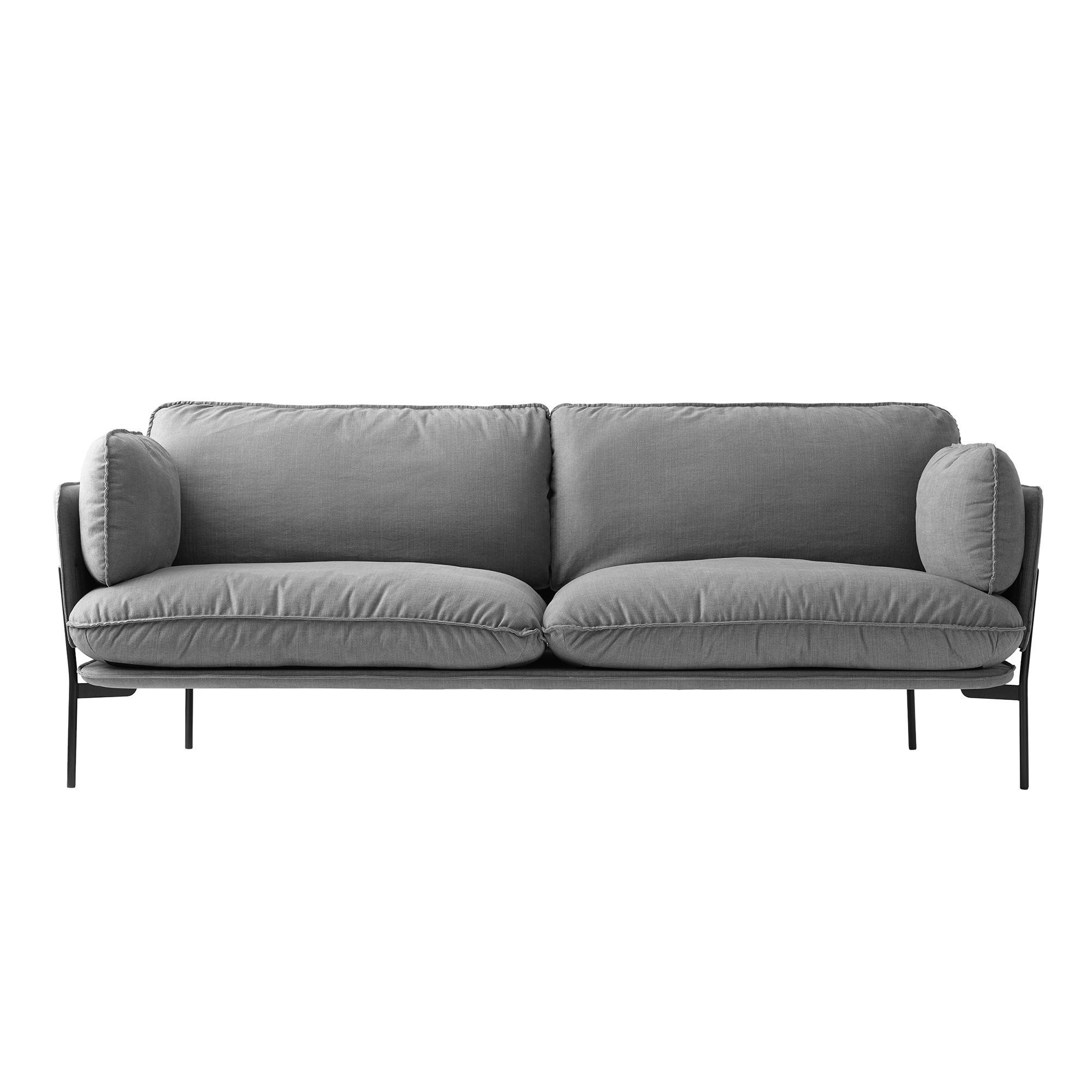 Sofa Grau Cloud Ln3 2 3 Seater Sofa