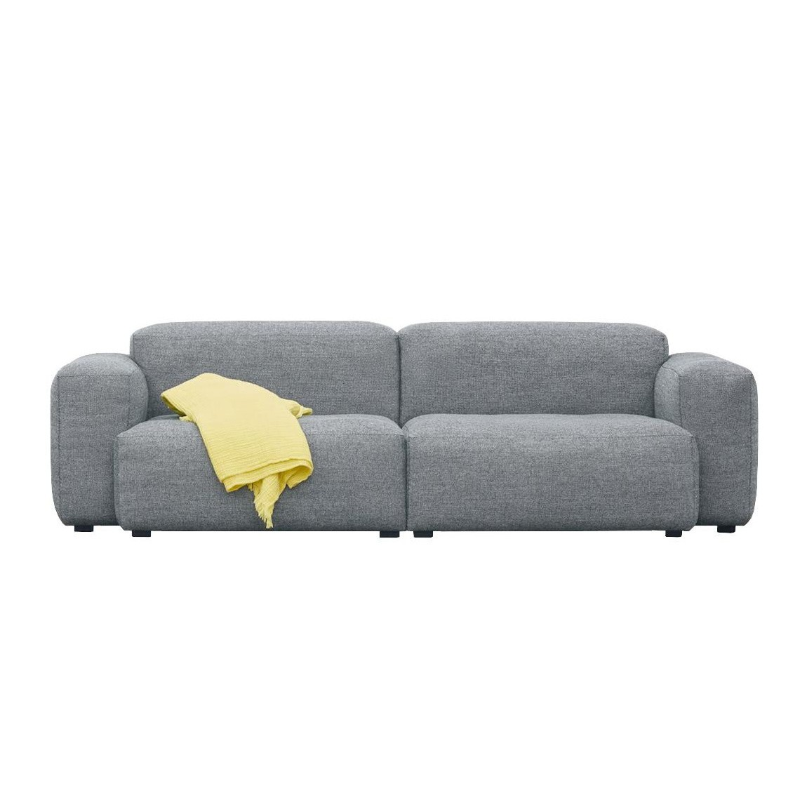 Hay Mags Soft 2 5 Seater Sofa Low Armrest Ambientedirect