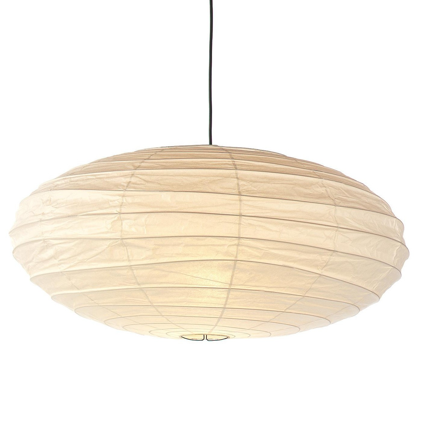 Hängelampe Papier Akari En Suspension Lamp Oval