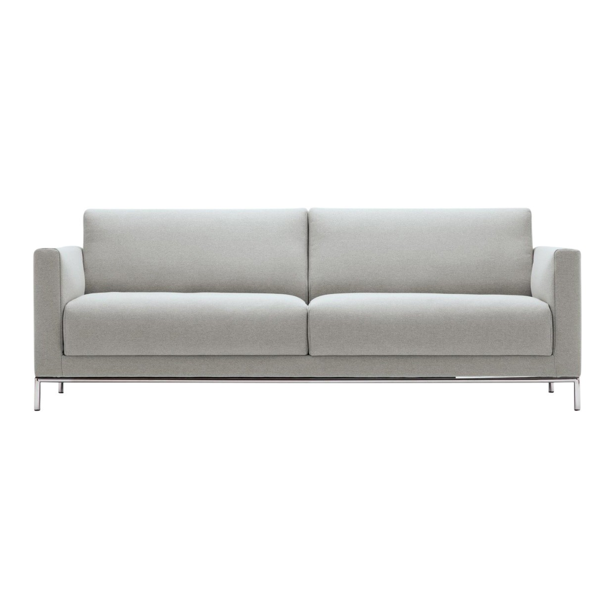 Freistil Rolf Benz Freistil 141 3 Seater Sofa Frame Chrome Ambientedirect