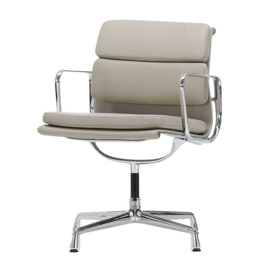 Vitra Ea 208 Soft Pad Eames Alu Chair Office Chair - Vitra Sessel Alu Chair