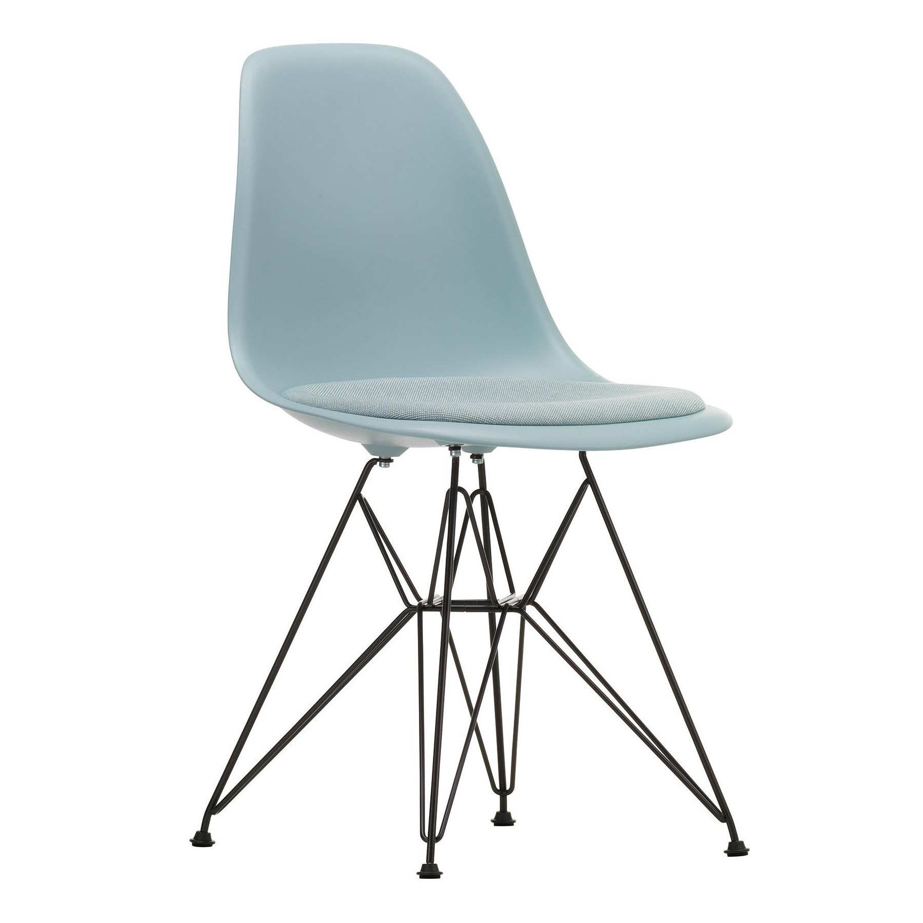 Chair Eames Vitra Eames Plastic Side Chair Dsr Upholsterd | Ambientedirect