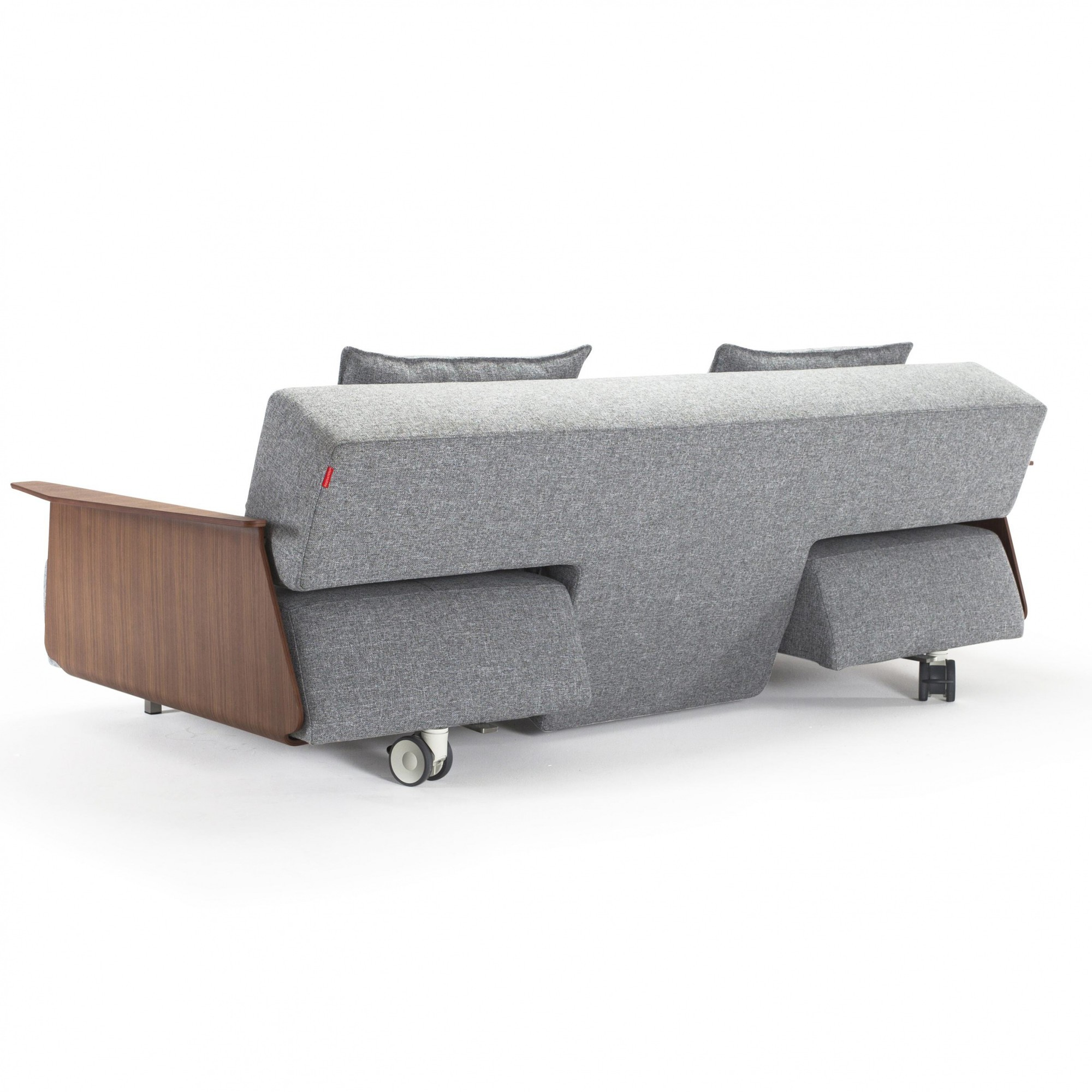 Couch Boxspring Long Horn Excess Sofa Bed With Armrests