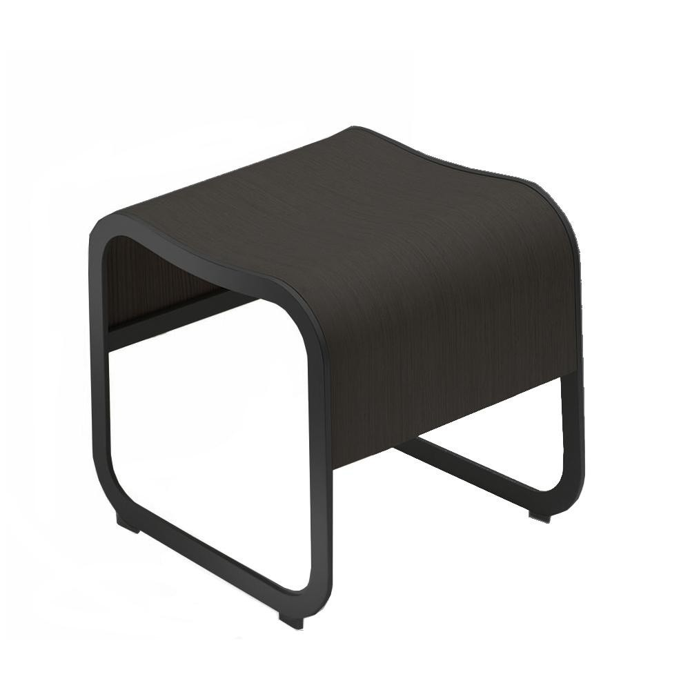 Bank Schwarz Za 1 Bench Stool Stackable Frame Black
