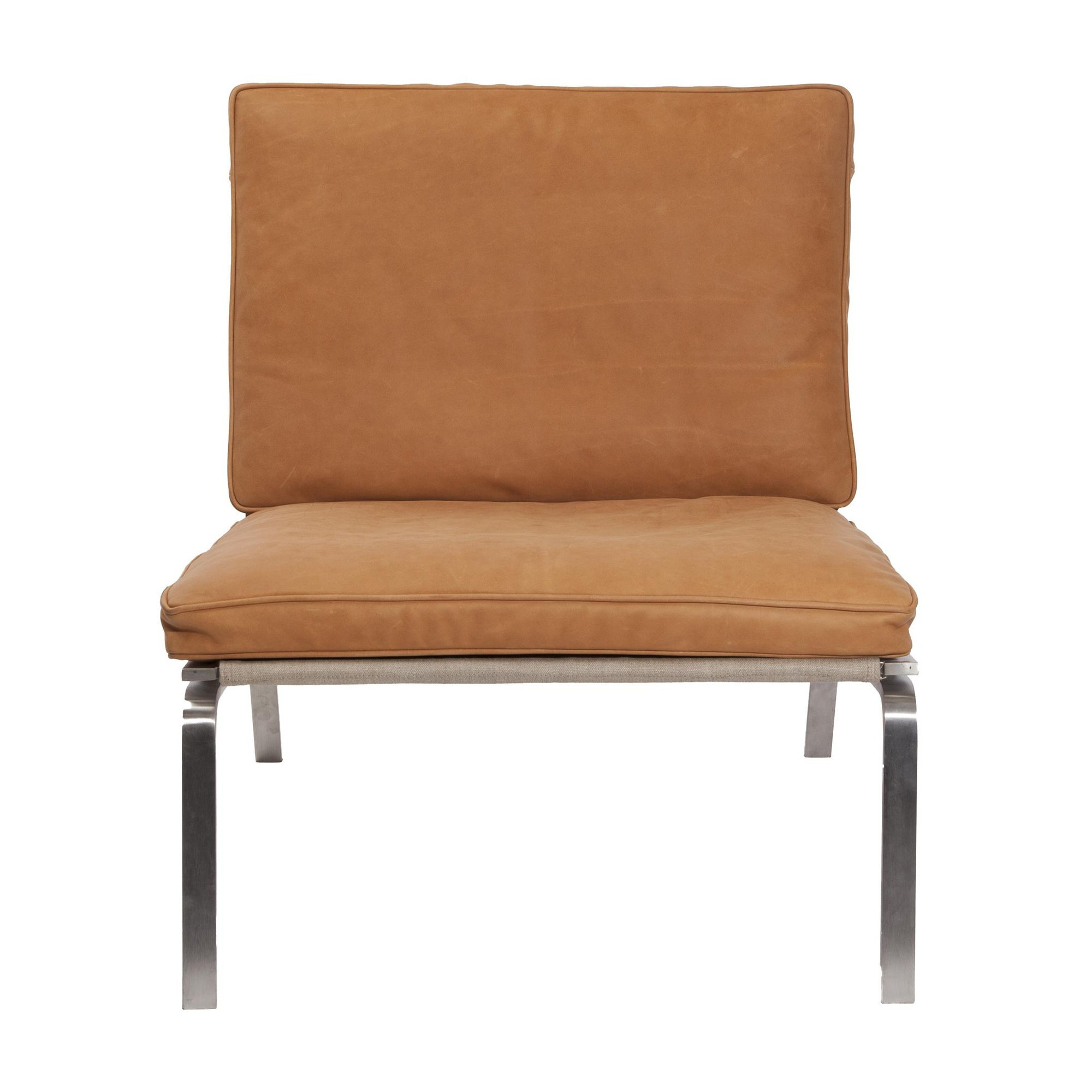 Lounge Sessel Leder Cognac Man Lounge Chair Sessel
