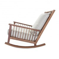 Gray 09 Rocking Chair | Gervasoni | AmbienteDirect.com