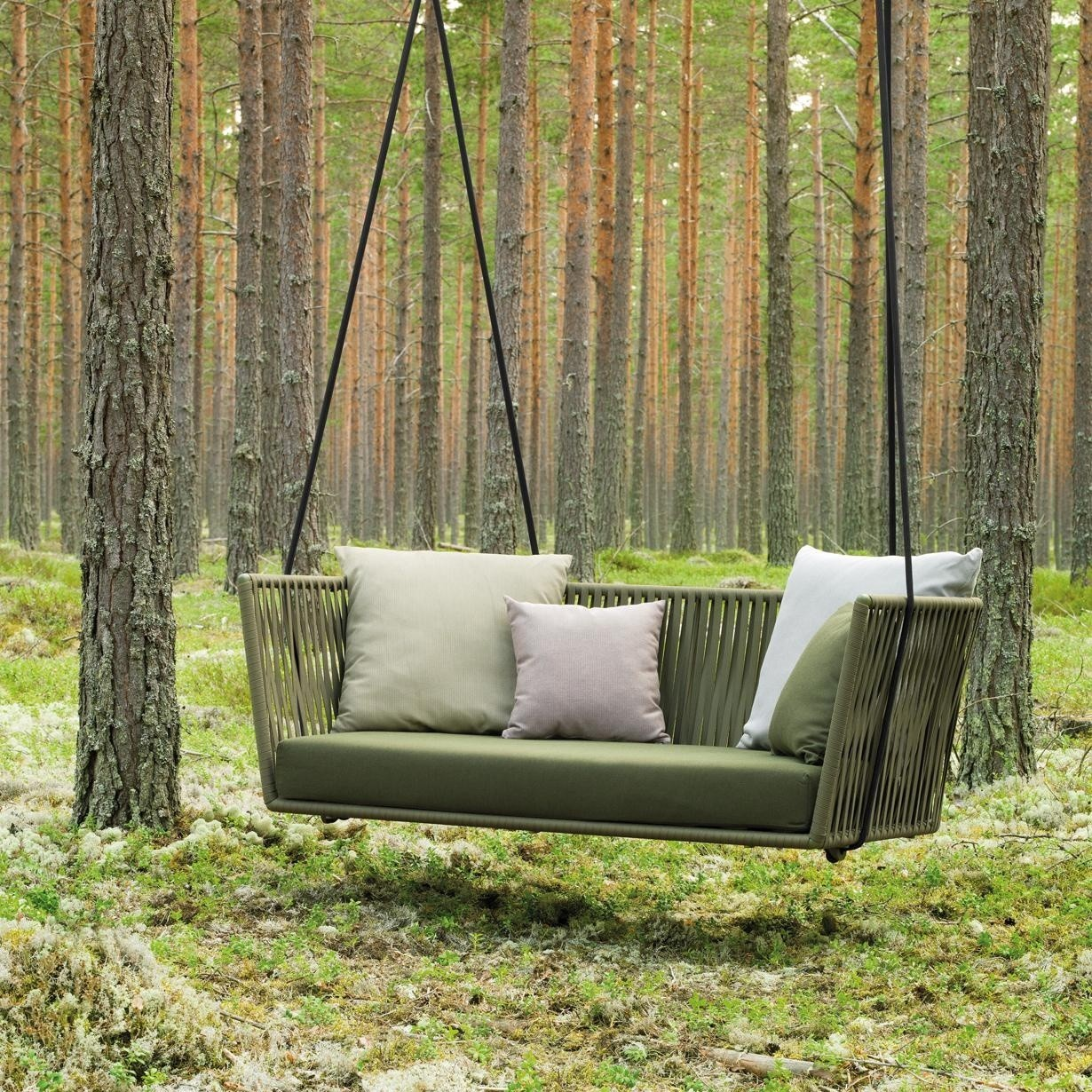 Garten Sofa Bitta Swing Gartensofa Hollywoodschaukel