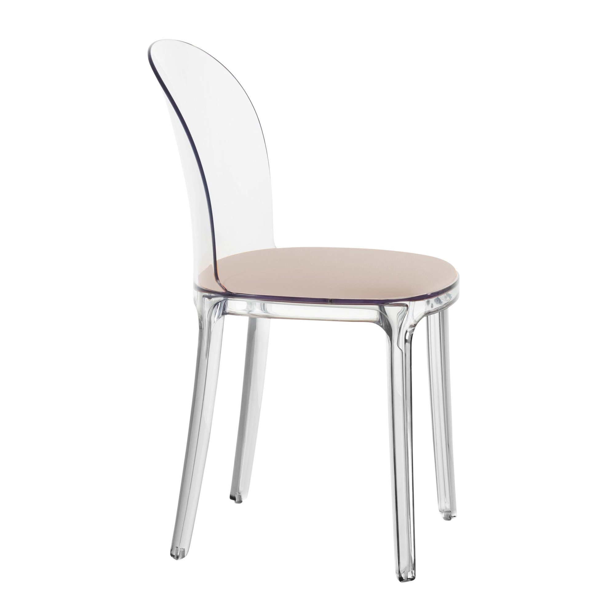 Chaise Polycarbonate Transparente Vanity Chair Chaise Transparente