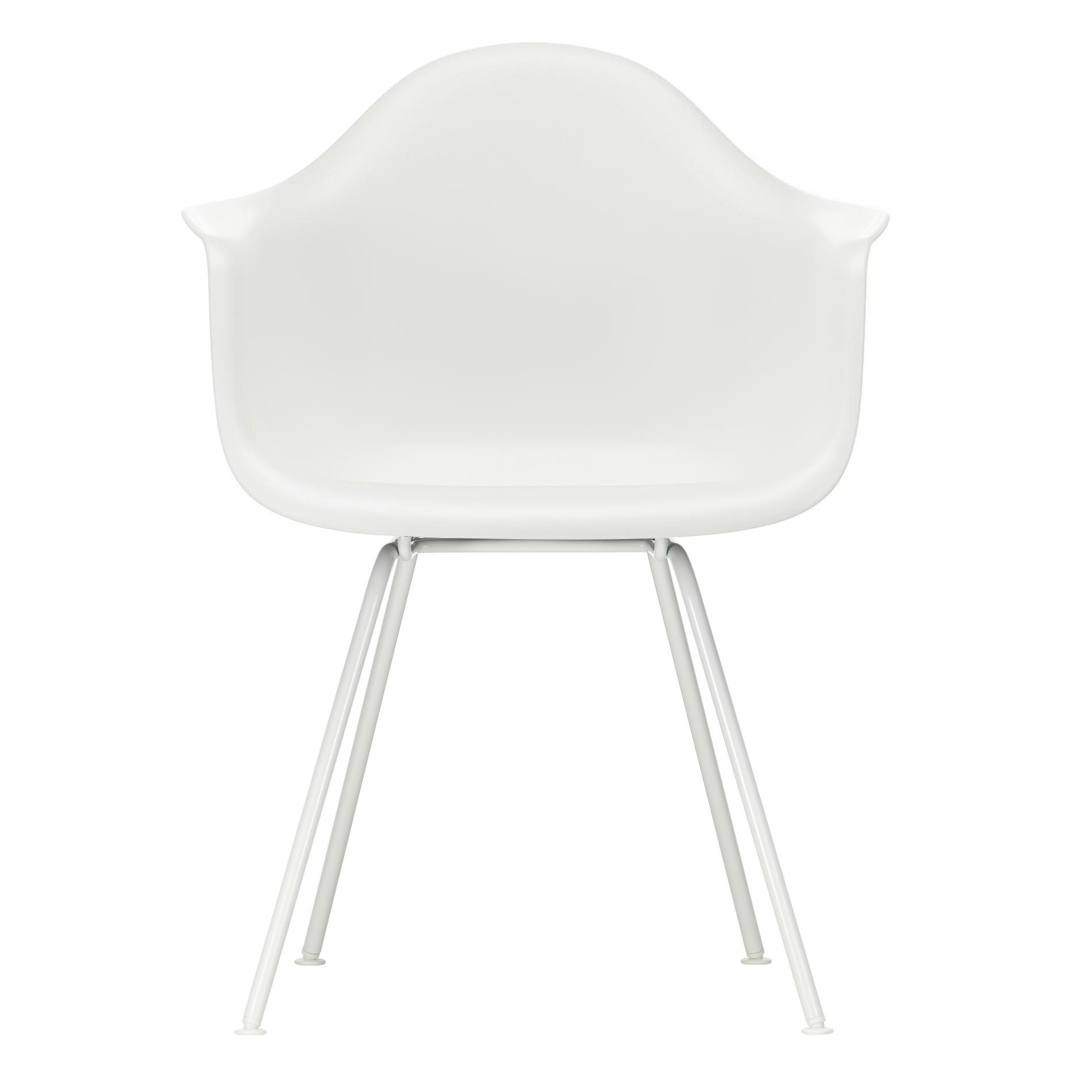 Eames Chair Weiß Vitra Eames Plastic Chair Dax White Base | Ambientedirect
