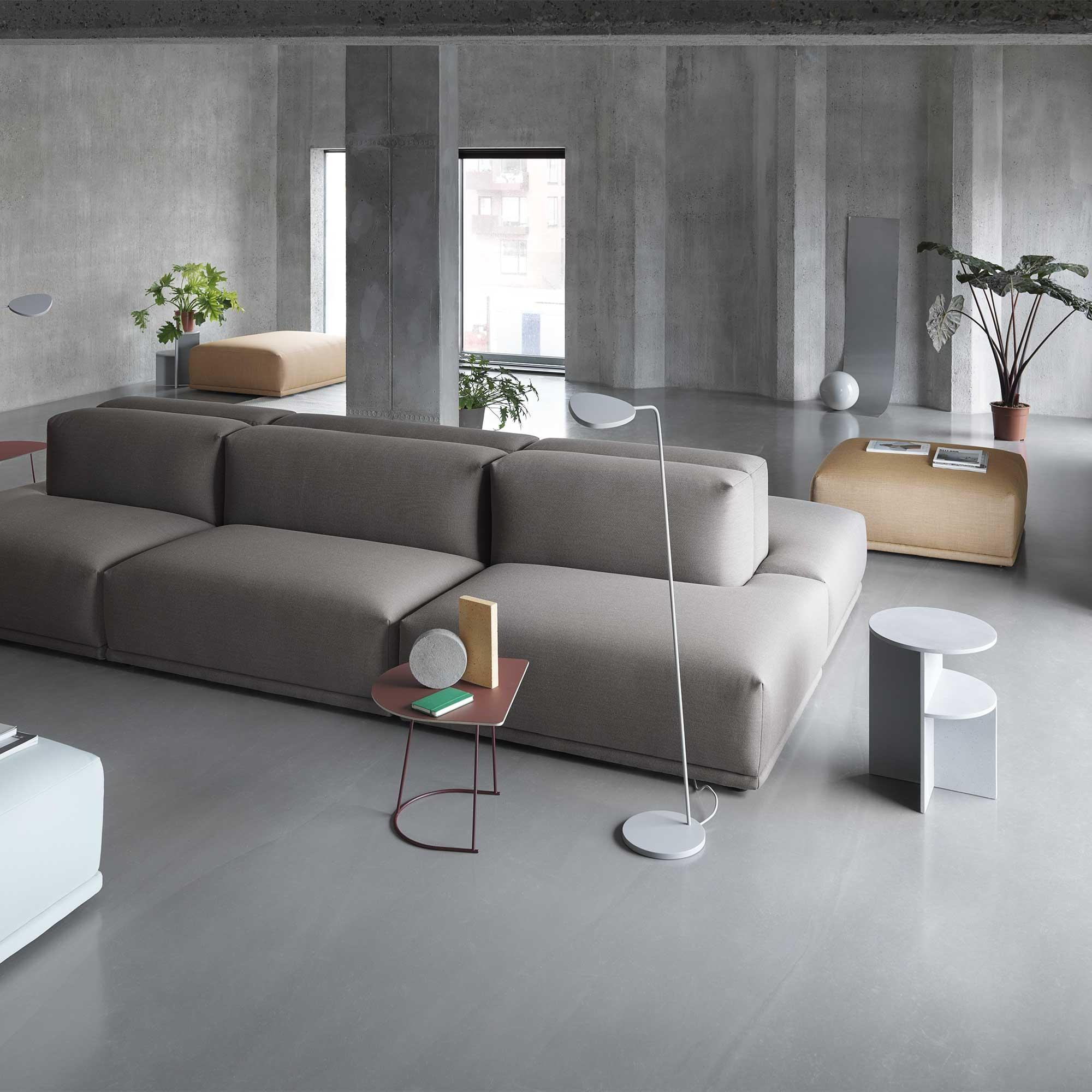 Couchtisch Industrial Design Airy Half Coffee Table