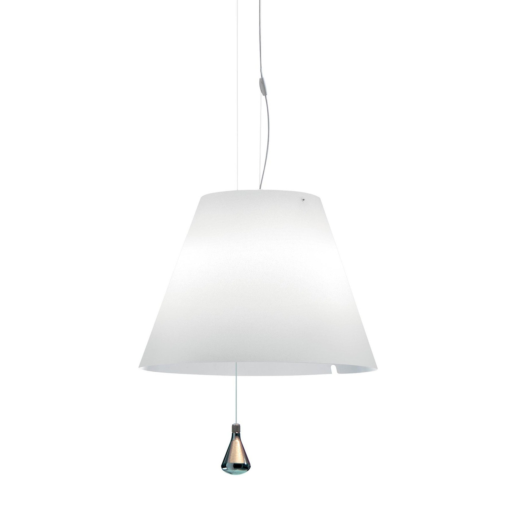 Luceplan Costanza Costanza Led Suspended Lamp With Drag Rope