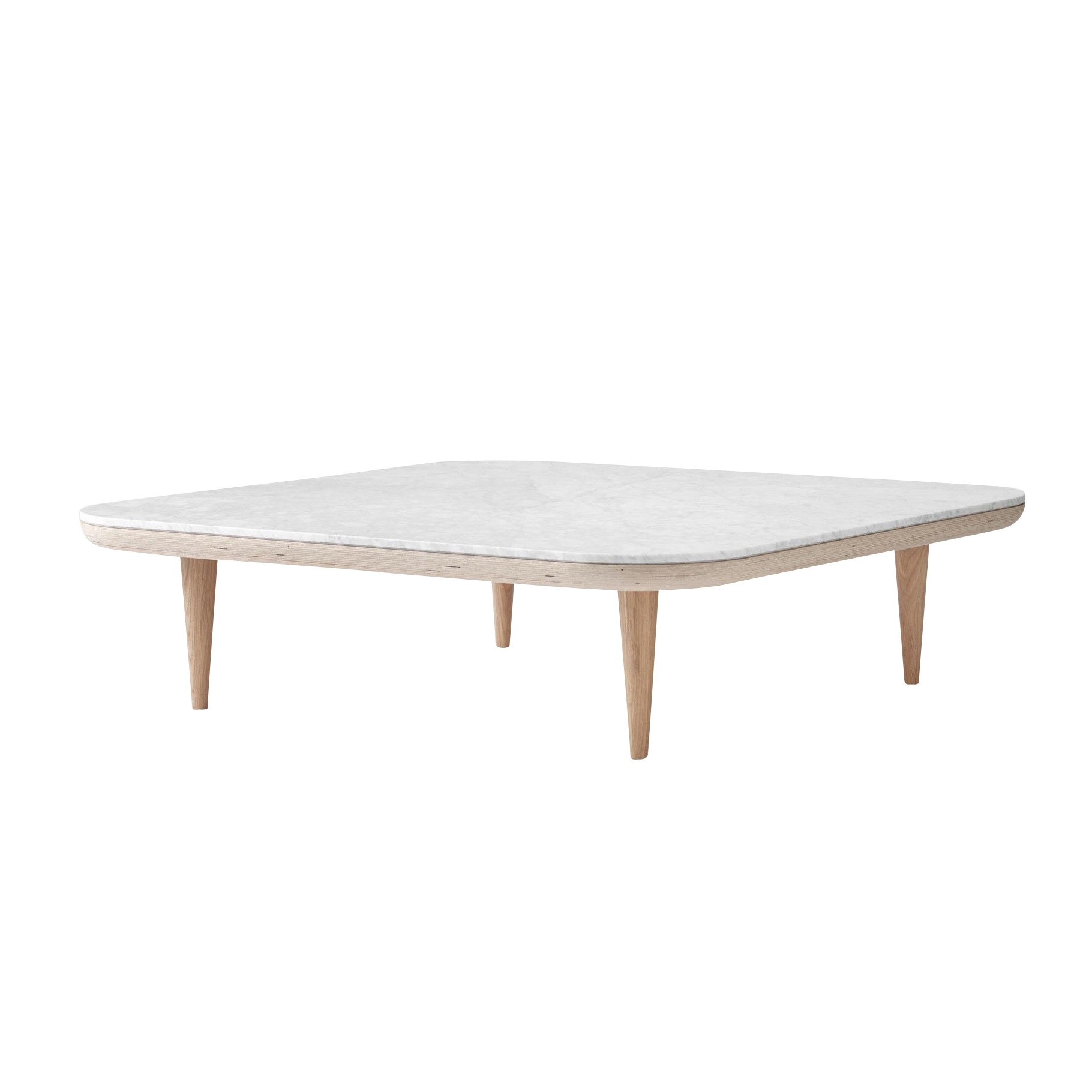 Nordic Oak Couchtisch Fly Table Sc11 Coffee Table 120x120cm