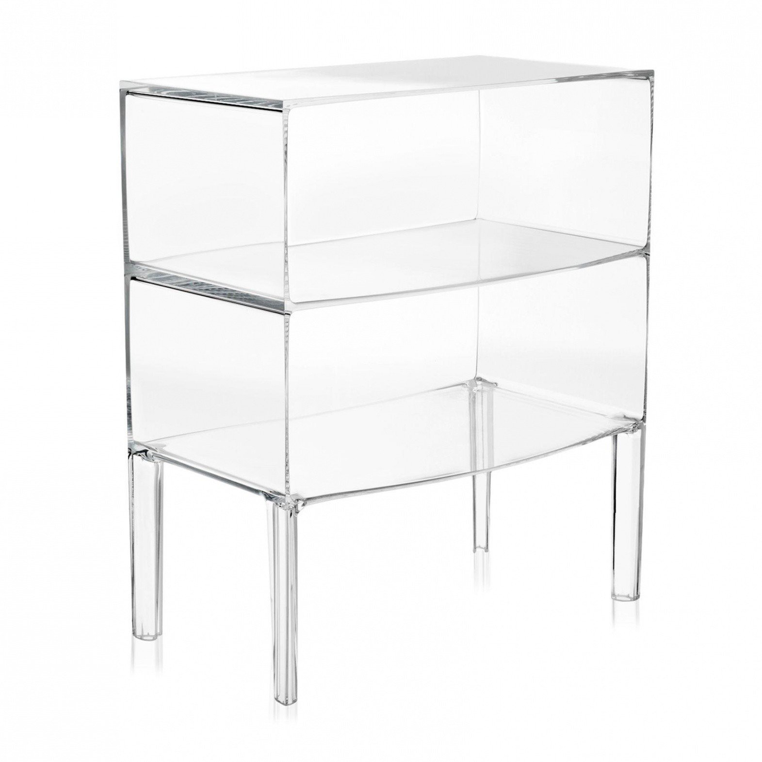 Meubles Transparents Kartell Ghost Buster Commode Ambientedirect