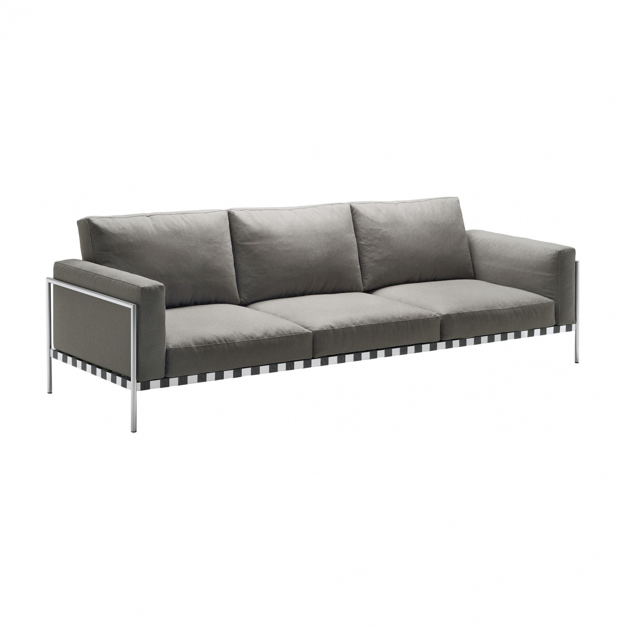 Sofa Grau Parco Indoor 3 Seater Sofa