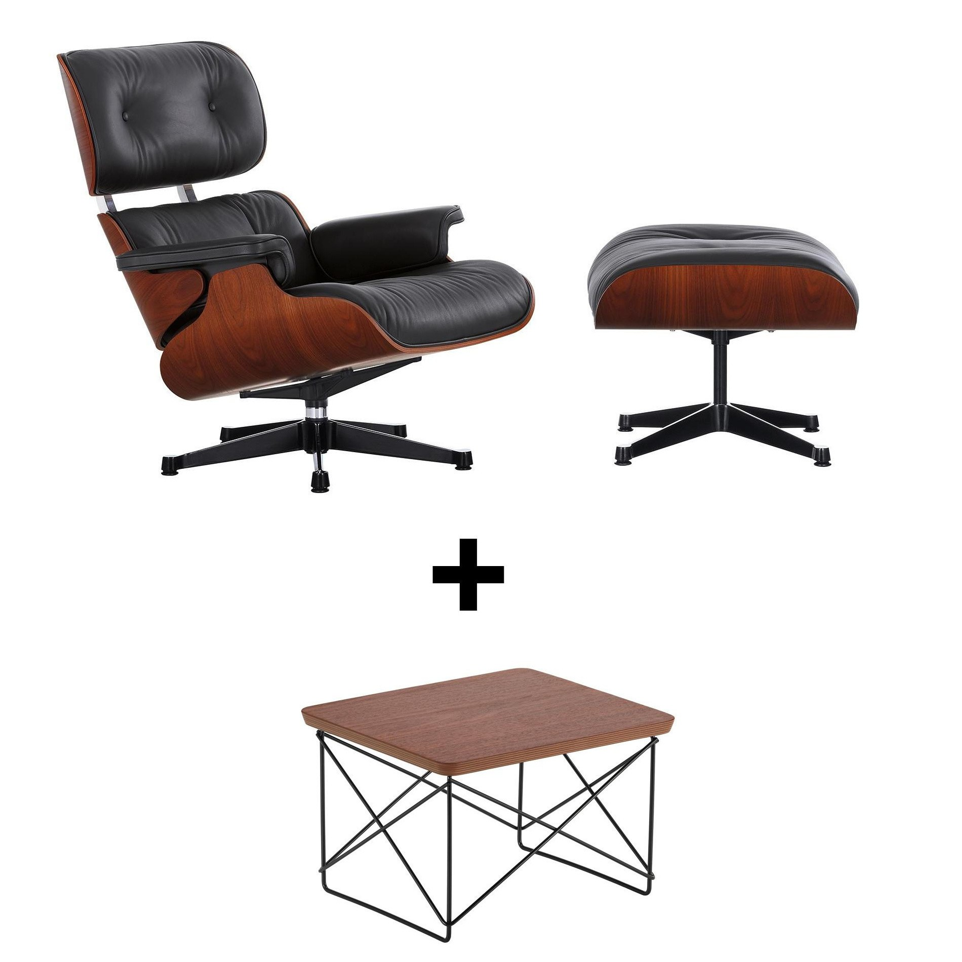 Tisch Eames Eames Lounge Chair Set Ltr For Free