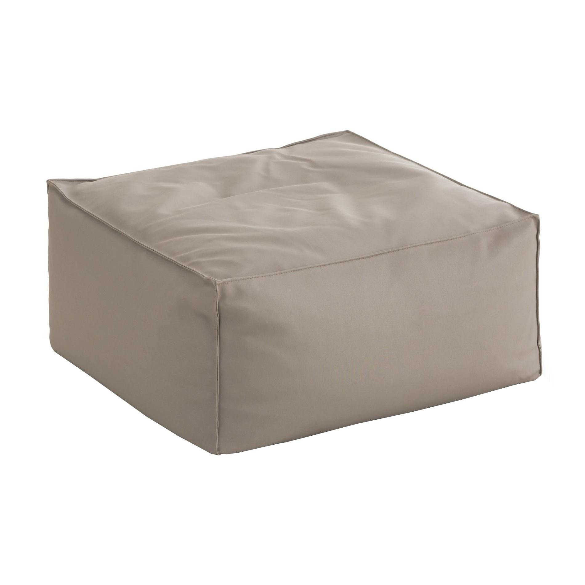 Gandia Blasco Sail Outdoor Pouf Seat Cushion Ambientedirect