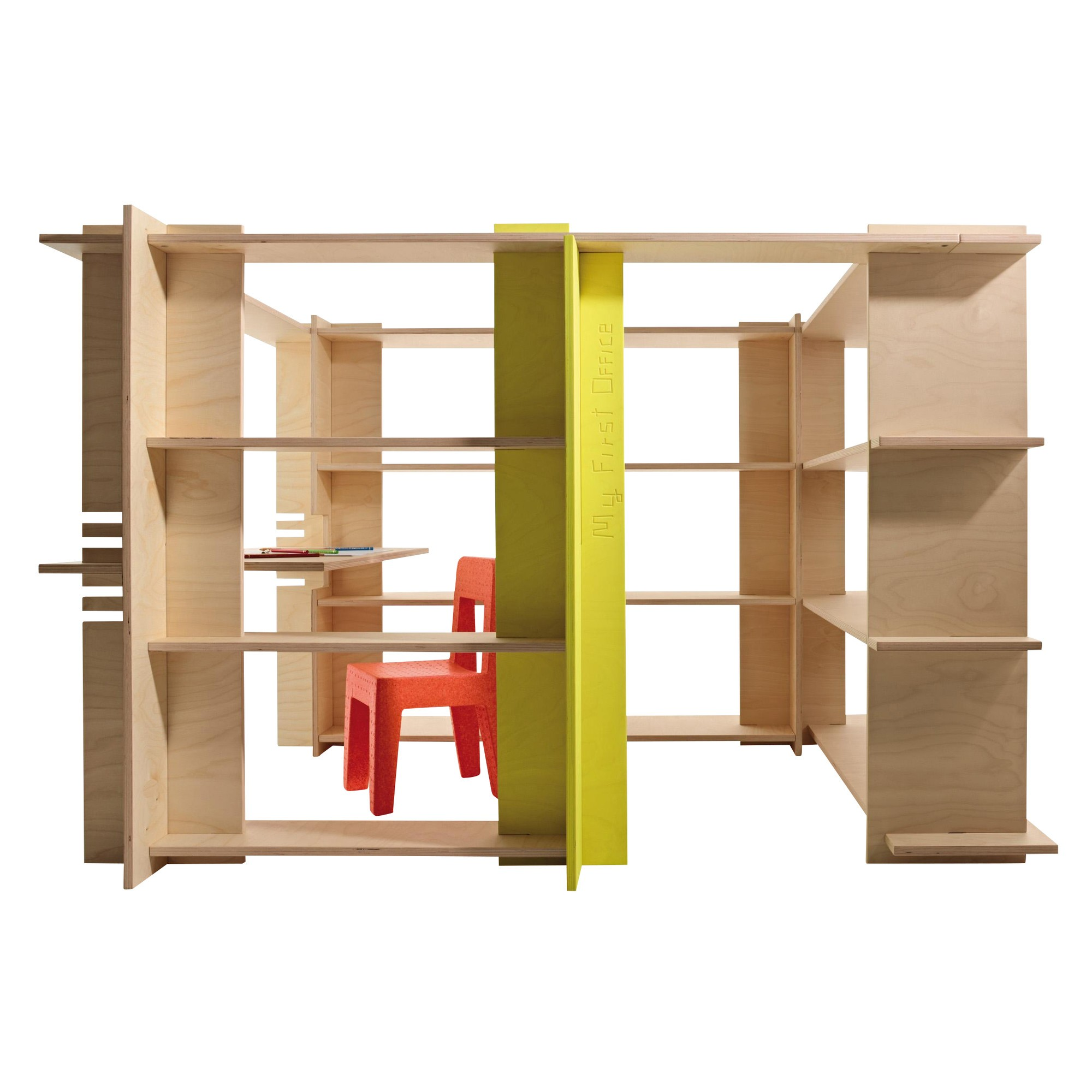 Magis My First Office Shelving System Ambientedirect