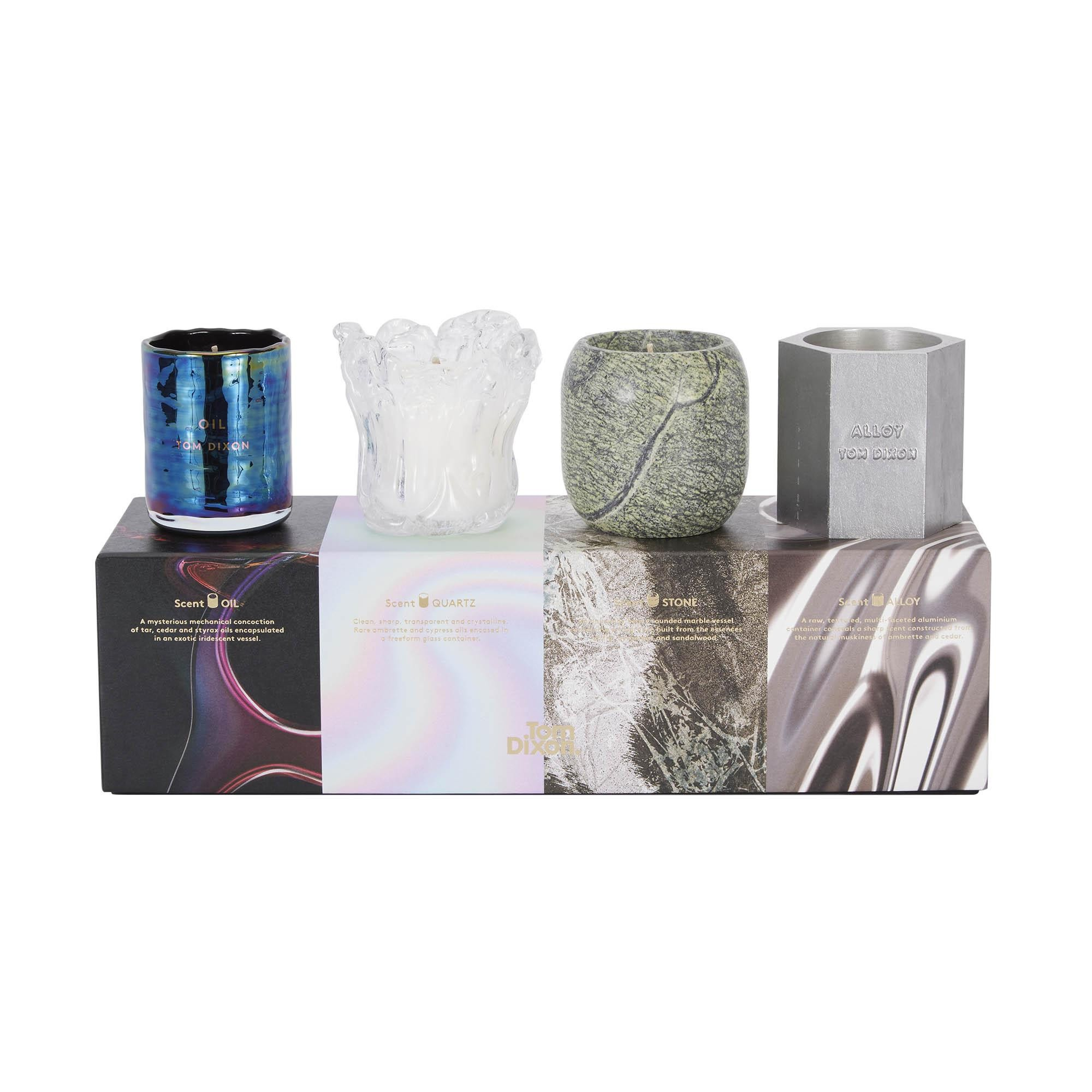 Tom Dixon Couchtisch Materialism Gift Set Candles