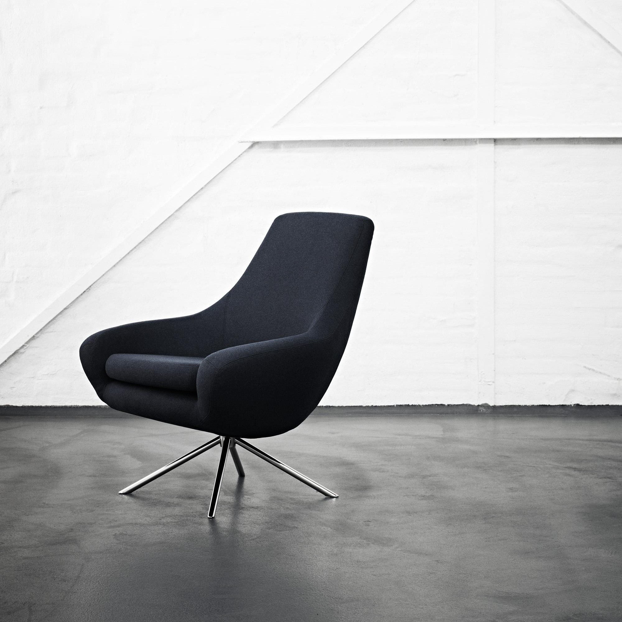 Ledersessel Lounge Softline Noomi Lounge Chair | Ambientedirect