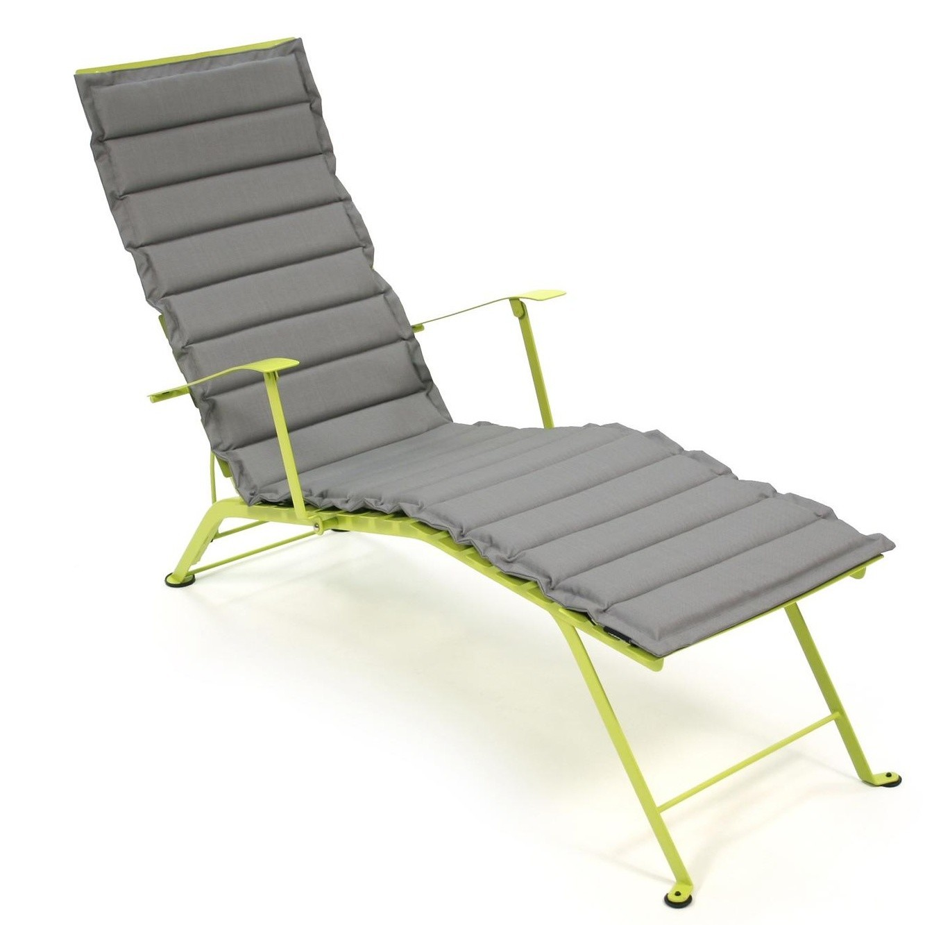 Chaise Metal Bistro Bistro Sun Lounger Cushion