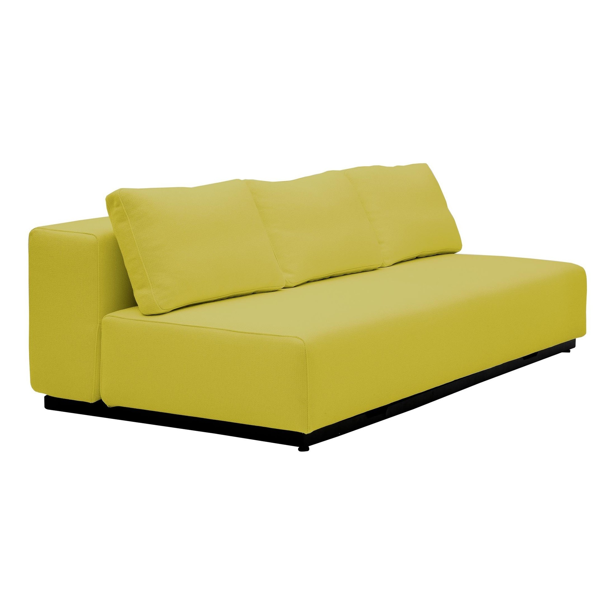 Schlafsofa Gelb Nevada 3 P Sofa Bed