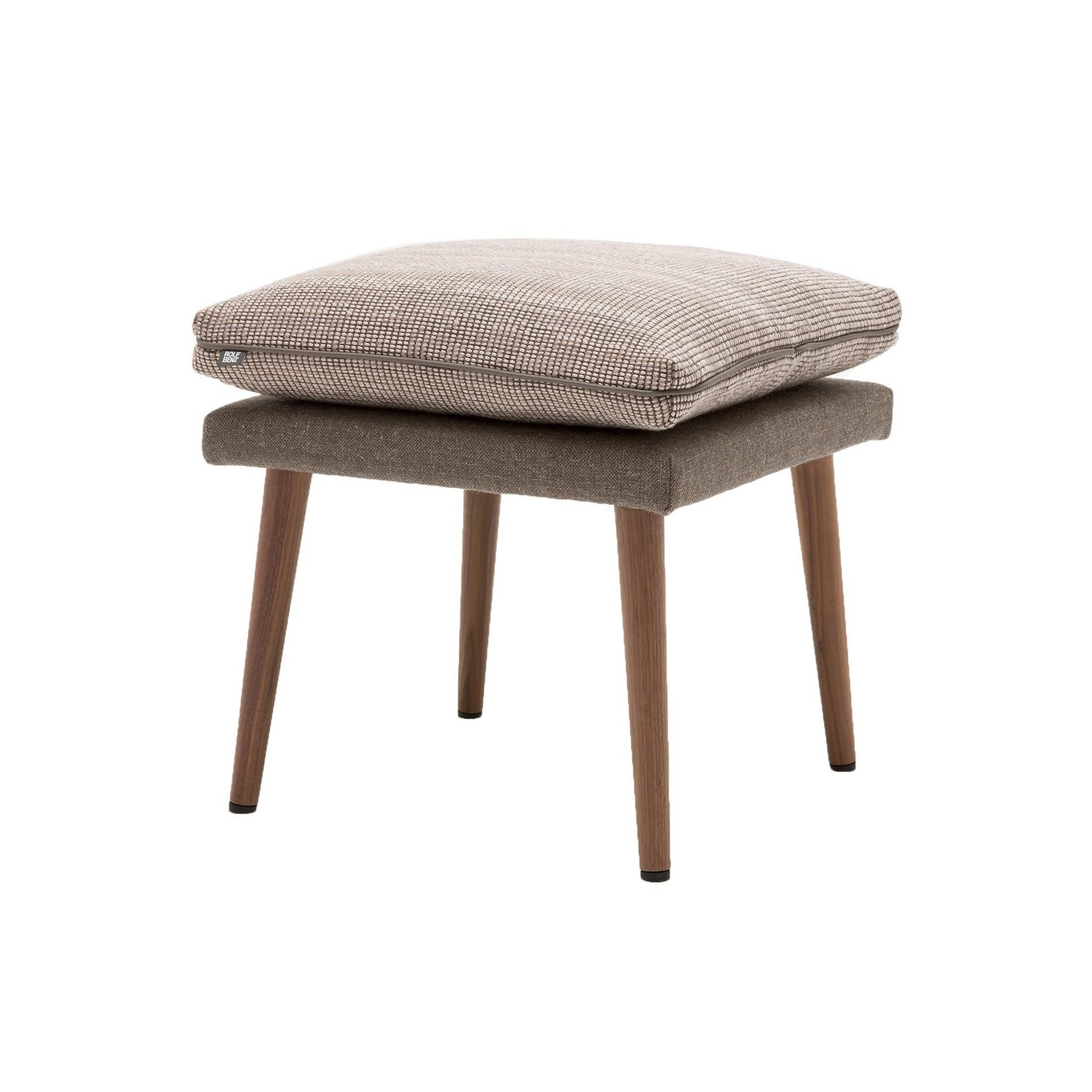 Hocker Grau Rolf Benz 945 Hocker