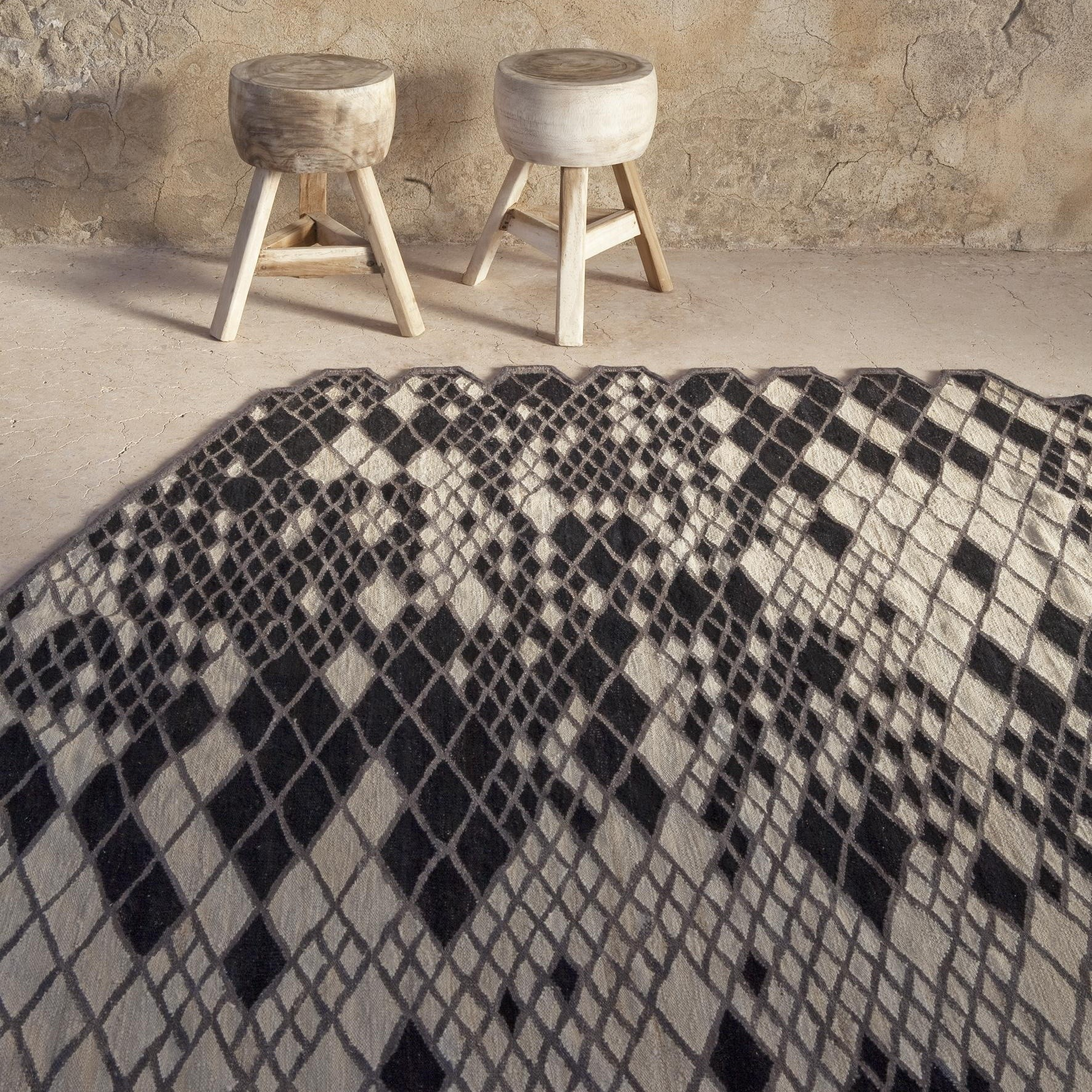Teppich Discount Nanimarquina Losanges Bouroullec Design Carpet | Ambientedirect