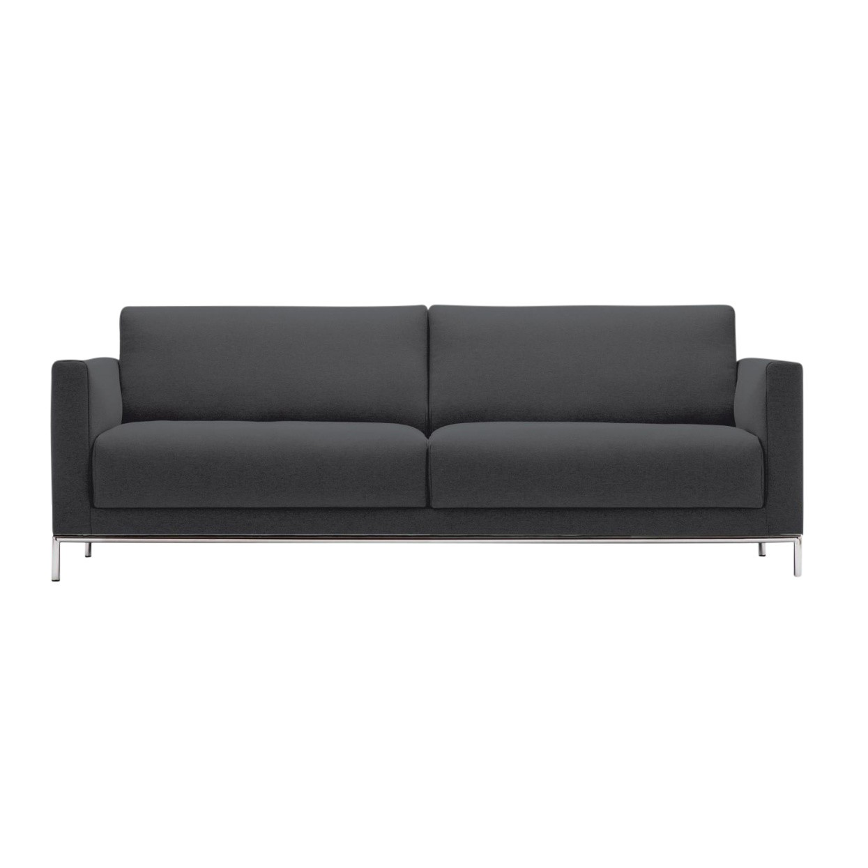 Rolf Benz Couch Freistil 141 3 Seater Sofa Frame Chrome
