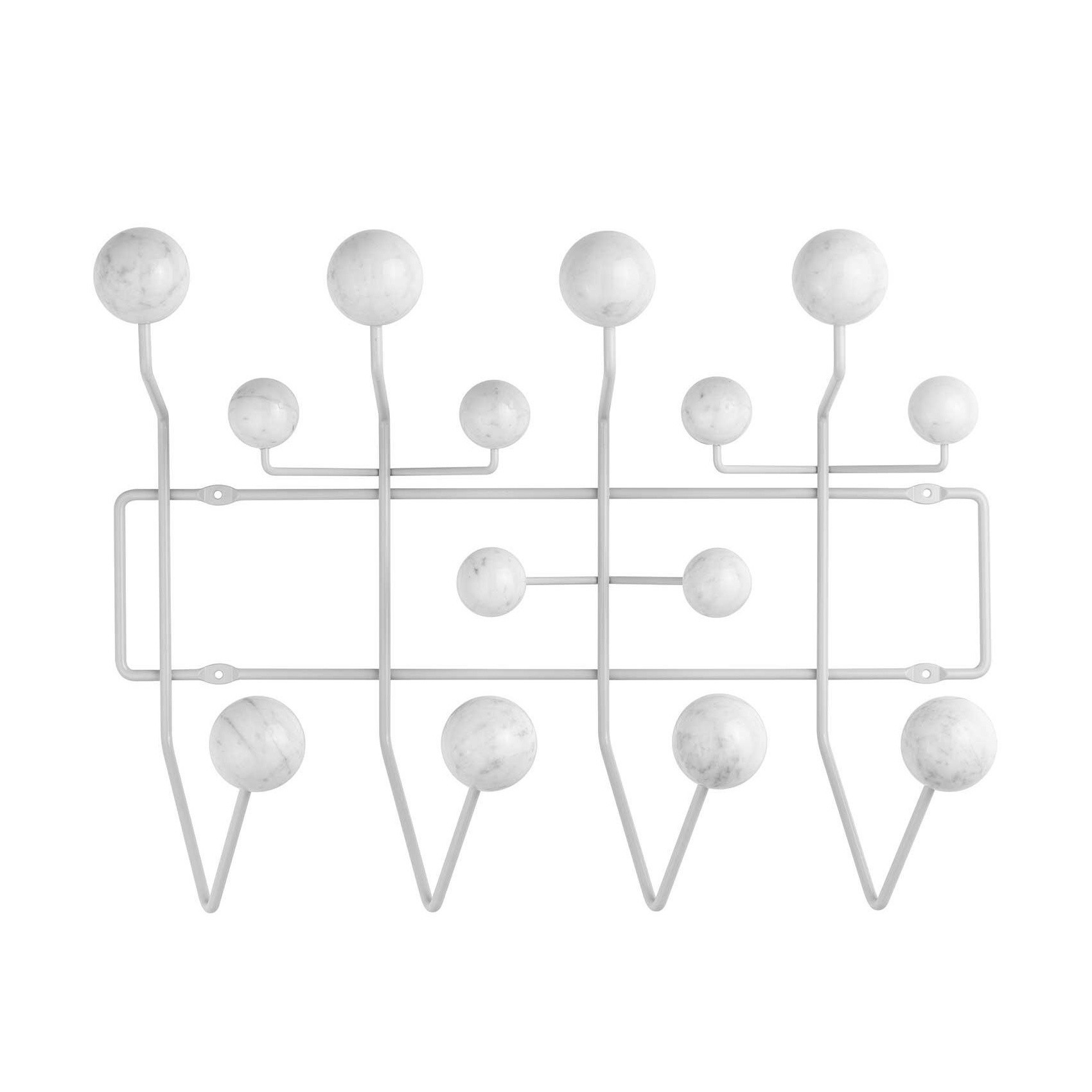 Vitra Limited Edition Hang It All Coat Rack Marble Ambientedirect