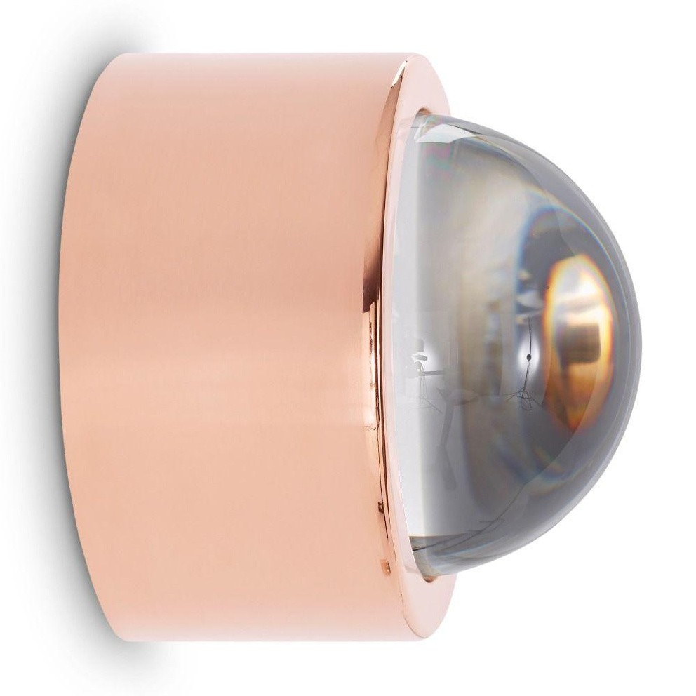 Wandleuchte Led Spot Tom Dixon Spot Round Led Wall Lamp Ambientedirect