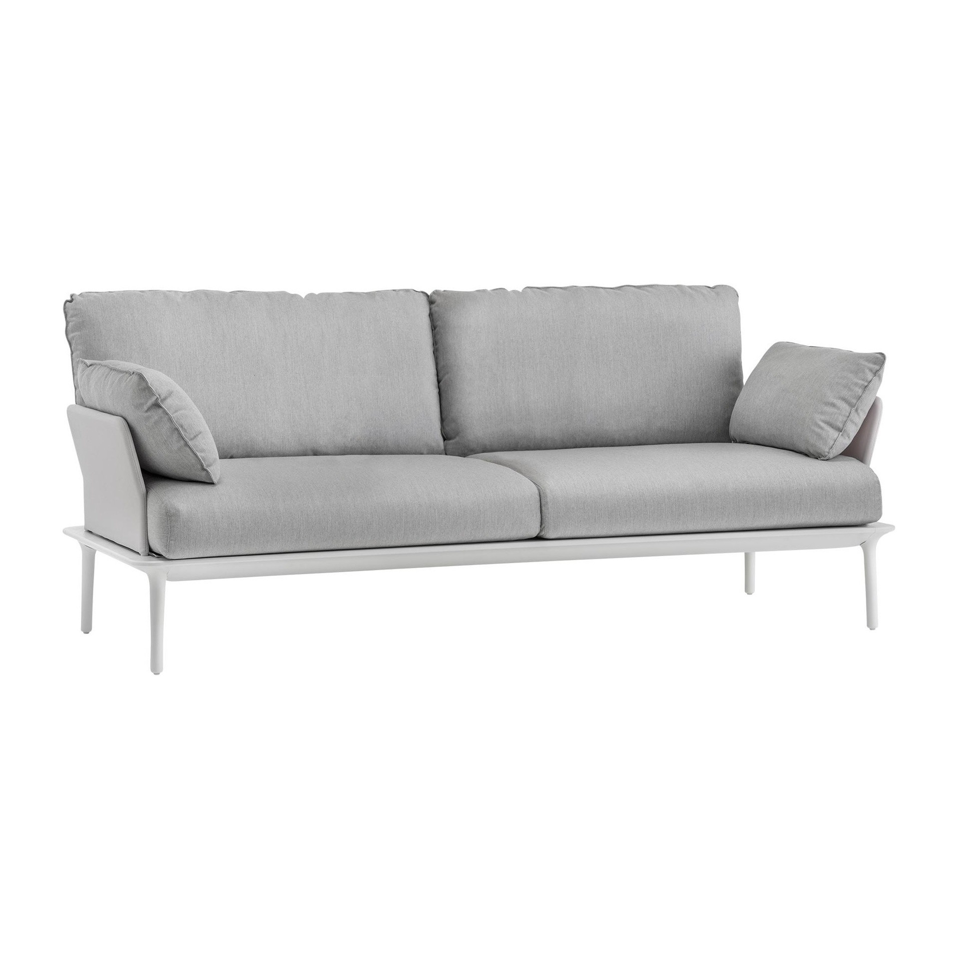 Lounge Sofa 2 Sitzer Outdoor Pedrali Reva Lounge Outdoor 3 Seater Sofa | Ambientedirect