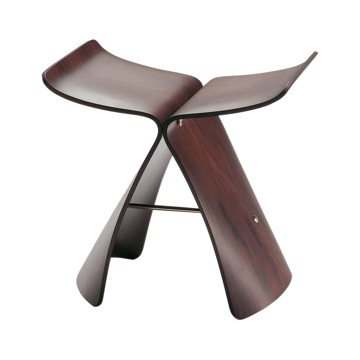 Tabourets Vitra Vitra Butterfly Stool Tabouret Ambientedirect