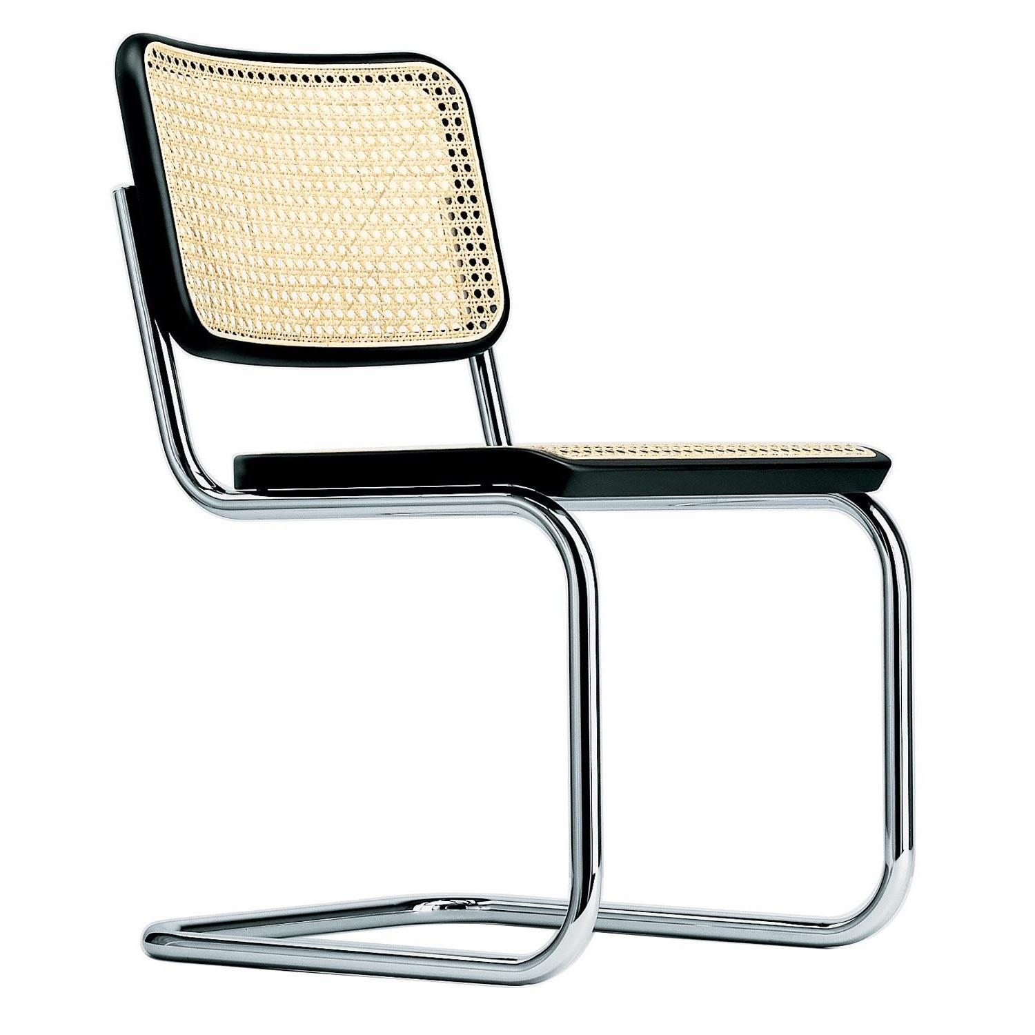 Thonet S 32 V Cantilever Chair With Wickerwork Ambientedirect