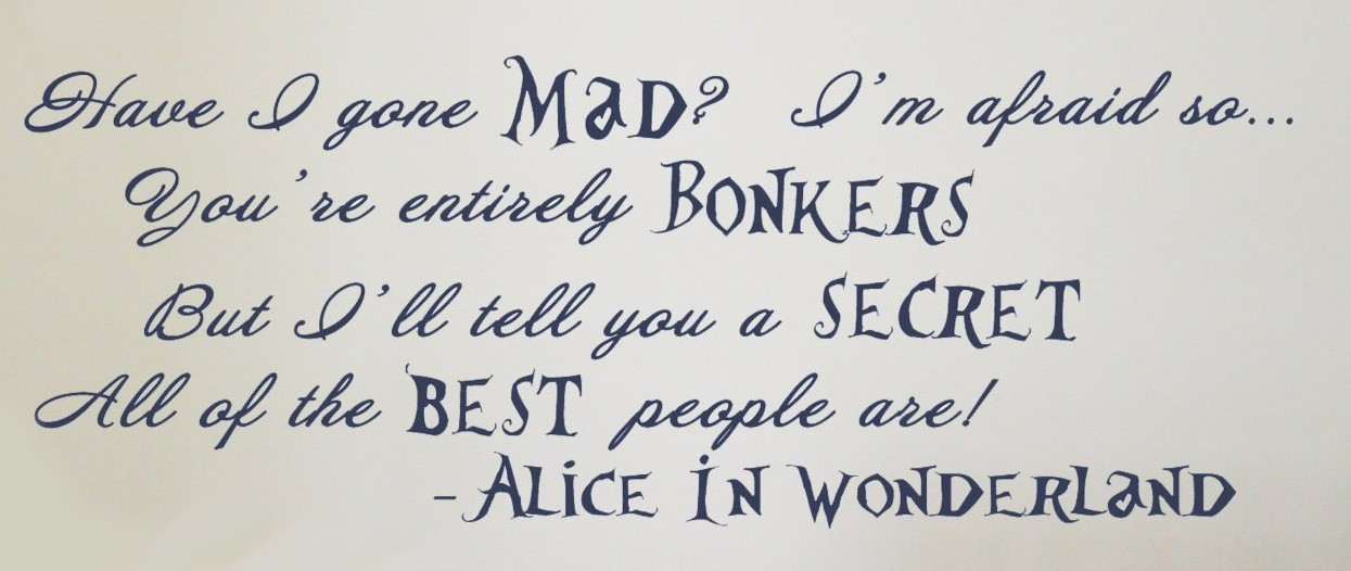 Inspirational Quote Wallpaper Generator Alice In Wonderland Time Quotes Quotesgram