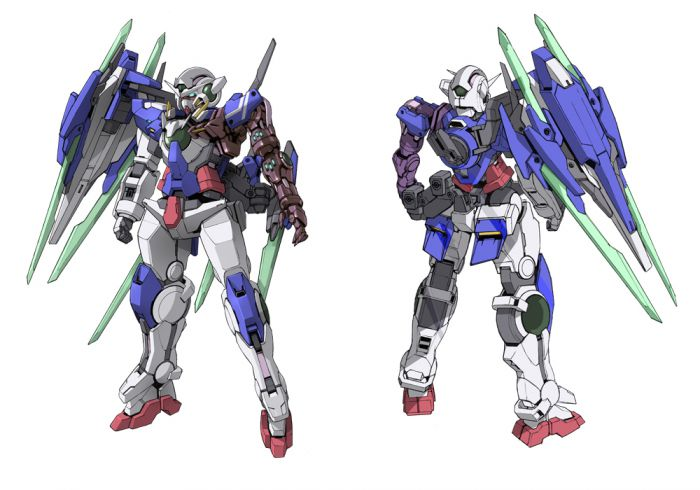 Gundam Girl Wallpaper Gundam 00 S 10th Anniversary Stage Reading Introduces New