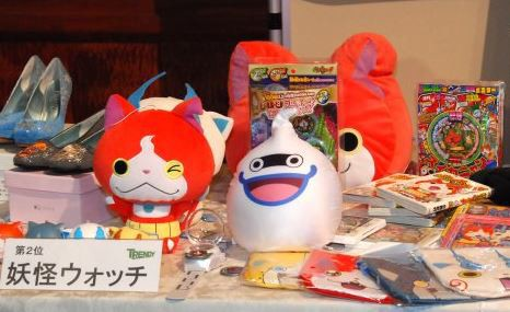 Yo-kai Watch, Frozen Helped Raise 2014 Toy Sales in Japan by 7