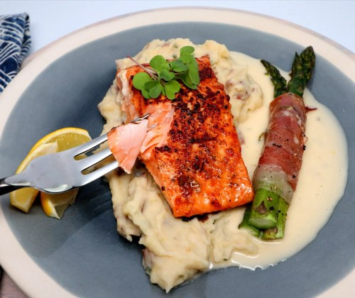 Medium Of What To Serve With Salmon