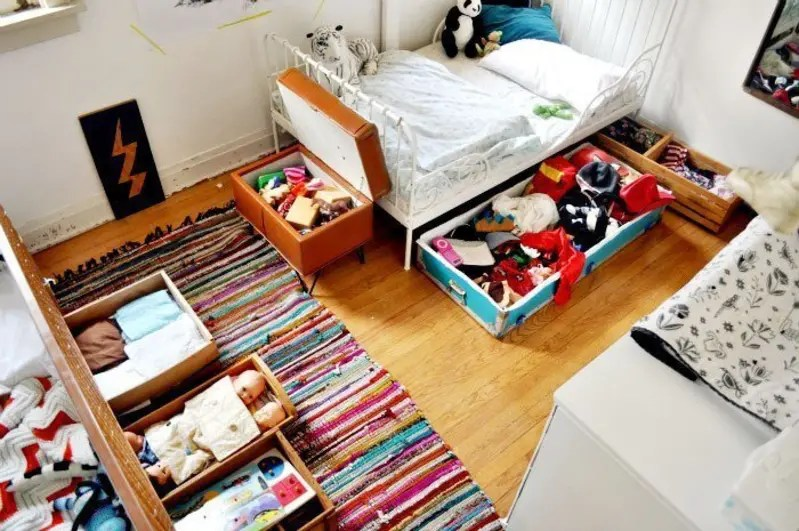 15 Real Life Storage Solutions For Kids Rooms Apartment