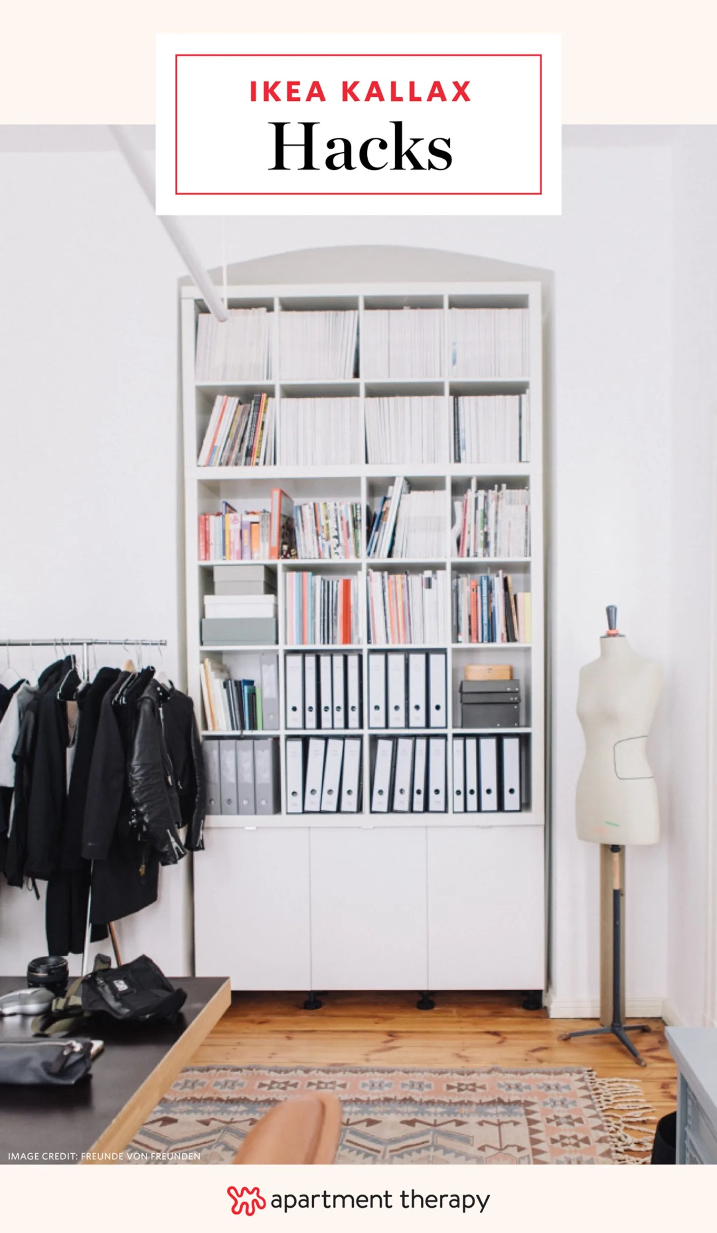 Ikea Expedit Garderobe 15 Super Smart Ways To Use The Ikea Kallax Bookcase Apartment Therapy